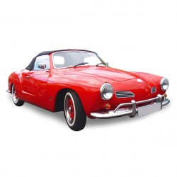 Soft top Karmann Ghia convertible Vinyl (1966-1967)