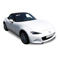 Soft top Mazda MX5 ND convertible in Alpaca Stayfast® - Partial headliner