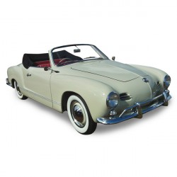Soft top Karmann Ghia convertible in Alpaca Stayfast® (1956-1966)