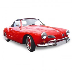 Soft top Karmann Ghia convertible in Alpaca Stayfast® (1966-1967)