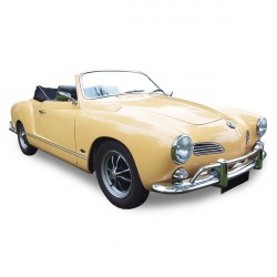 Soft top Karmann Ghia convertible in Alpaca Stayfast® (1967-1969)