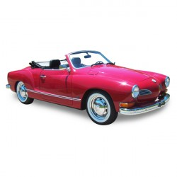 Soft top Karmann Ghia convertible in Alpaca Stayfast® (1969-1976)