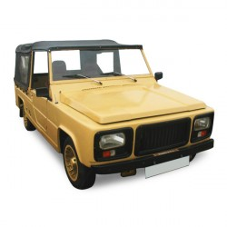 Soft top Renault Rodeo 4 1er série 1A convertible PVC (1970-1974)