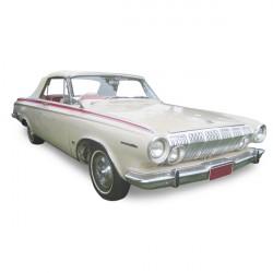 Capote Dodge Polara cabriolet Vinyle