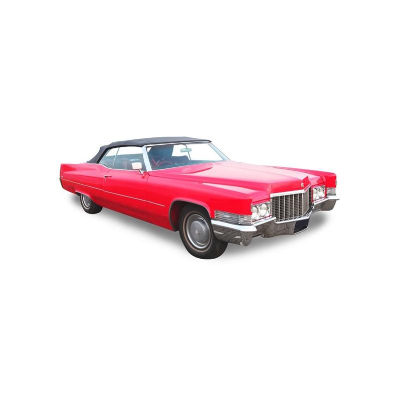 Capote Cadillac DeVille cabriolet Vinyle (1965-1970)