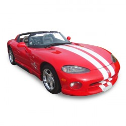Soft top Dodge Viper Targa convertible in Alpaca Stayfast® (1992-1996)