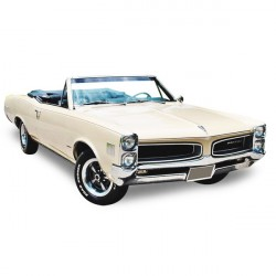 Capote Pontiac LeMans cabriolet Vinyle (1966-1967)