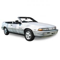 Capote Pontiac Sunbird cabriolet Vinyle (1988-1992)