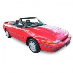 Soft top Mercury Capri convertible Vinyl (July 1992 - 1994)