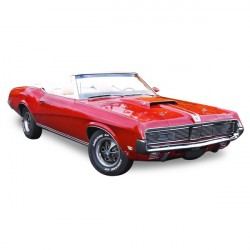 Soft top Mercury Cougar convertible Vinyl (1969-1973)