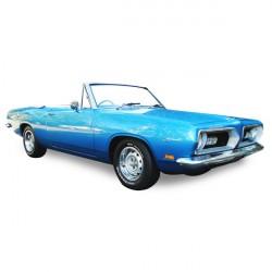 Capote Plymouth Barracuda cabriolet Vinyle (1967-1969)