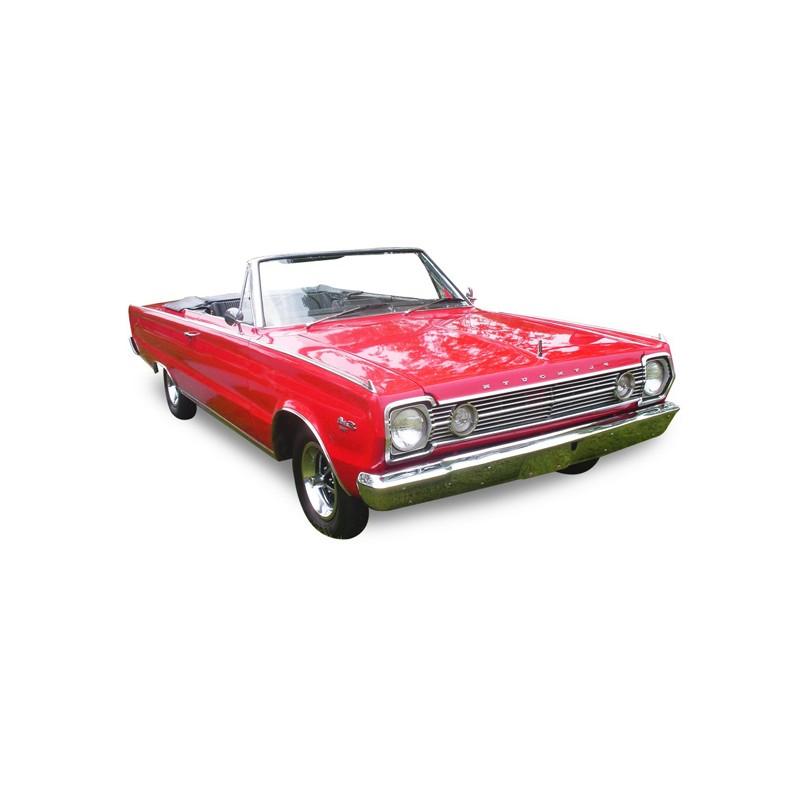 Capote Plymouth Satellite cabriolet Vinyle (1967-1970)