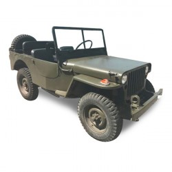 Soft top Jeep Willys MB - GPW convertible Vinyl (1941-1945)
