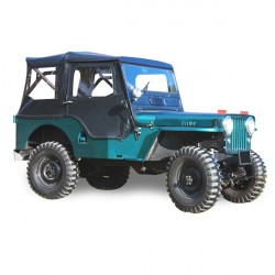 Capota Jeep CJ 3A cabriolet Vinilo (1949-1953)