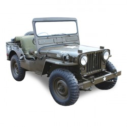 Soft top Jeep M38 convertible Vinyl (1949-1952)