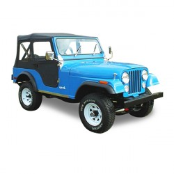 Soft top Jeep CJ5 convertible Vinyl (1955-1975)