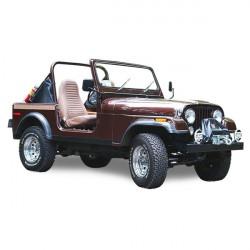 Capota Jeep CJ7 cabriolet Vinilo (1976-1986)