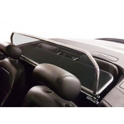 Filet saute-vent aluminium chromé (windschott) Jaguar XK/XKR cabriolet