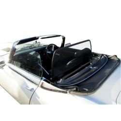 Filet saute-vent noir (windschott) Jaguar Type E V12 cabriolet