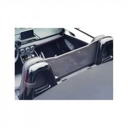 Filet saute-vent design noir (windschott) Mazda MX5 ND cabriolet
