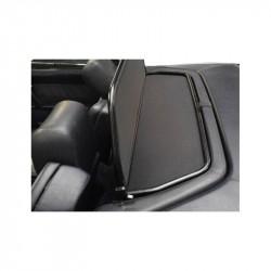 Filet saute-vent (windschott) aluminium noir mat Mercedes SL (R129) cabriolet