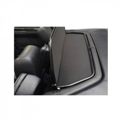 Frangivento (Windschott) alluminio nero opaco Mercedes SL (R129) Cabriolet