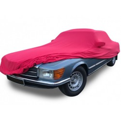 "Indoor car cover tailored for Mercedes SL R107 ""US"" convertible (Coverlux®+)"