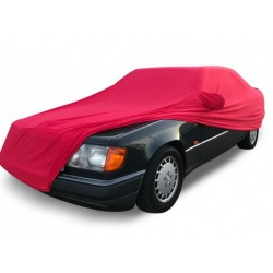 Indoor car cover tailored for Mercedes Classe E - A124 convertible (Coverlux®+)