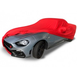 Indoor car cover tailored for Fiat 124 convertible (Coverlux®+)