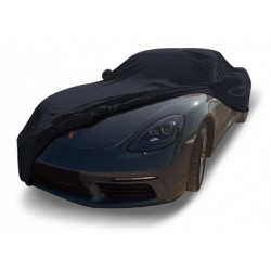 Indoor car cover tailored for Porsche Boxster 718 convertible (Coverlux®+)