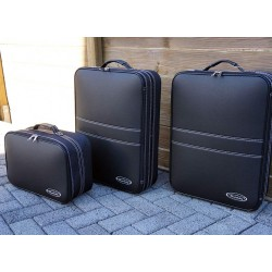 Set of luggages, taylor-made suitcases for Mercedes SLK (R170) convertible