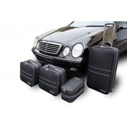 Set of luggages, taylor-made suitcases for Mercedes CLK (A208) convertible