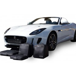 Set of luggages, taylor-made suitcases for Jaguar F-Type convertible (2014-2016)