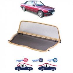 Filet saute-vent beige (windschott) BMW E30 cabriolet