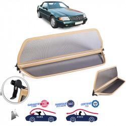 Filet saute-vent beige (windschott) Mercedes SL (R129) cabriolet