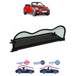 Frangivento disegno della curva nera (Windschott) Mini F57 Cabriolet