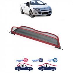 Windschott red Renault Megane 3 CC Convertible
