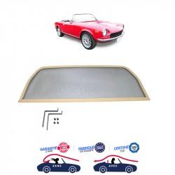 Filet saute-vent beige (windschott) Fiat 124 CS2 cabriolet