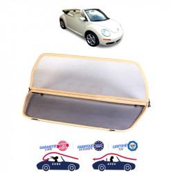 Filet saute-vent beige (windschott) Volkswagen New Beetle cabriolet