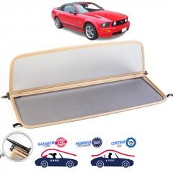Frangivento beige (Windschott) Ford Mustang Cabriolet (2005-2013)