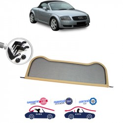 Filet saute-vent windschott beige Audi TT MK1 8N cabriolet