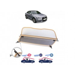 Filet saute-vent beige windschott Audi A3 8V cabriolet