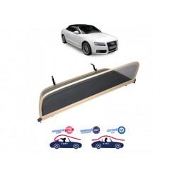 Filet saute-vent beige windschott Audi A5 cabriolet
