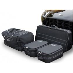 Bagagerie sur-mesure cuir Aston Martin V8 Vantage coupé