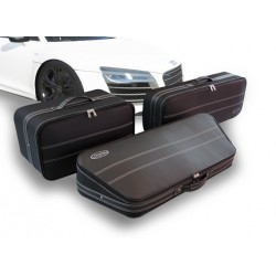 Set of luggages, taylor-made leather suitcases for Audi R8 Coupé
