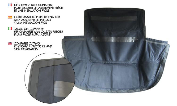 Toyota Celica T16 : convertible soft top in vinyl